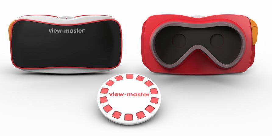 Современный View-Master в стильном красном цвете